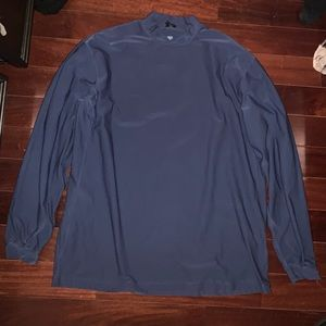 Blue Nike Golf Pullover